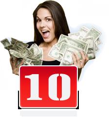 Спечелете пари с нашата програма последно 10